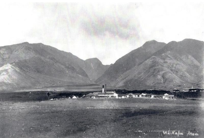 Waikapū - Cornwell Sugar Mill (B.M. - Circa 1890)